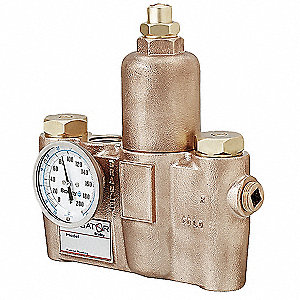 "3/4"" FNPT Inlet Type Mixing Valve, Bronze, 26 gpm"