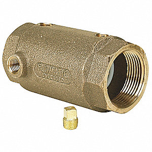 "1-1/4"" Check Valve, Lead Free Brass, FNPT Connection Type"