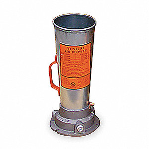 "Galvanized Steel Venturi Style Pneumatic Air Blower wiht 1/2"" NPT Inlet Connection"