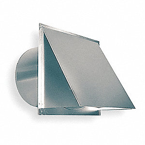 Aluminum Wall Cap with 15 x 14-1/2 Flange Size (In.)