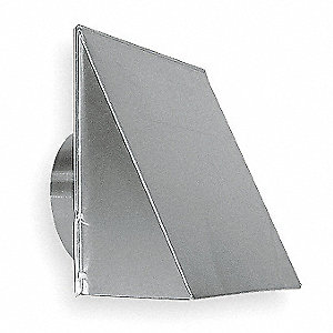 Aluminum Wall Cap with 12-1/2 x 13 Flange Size (In.)