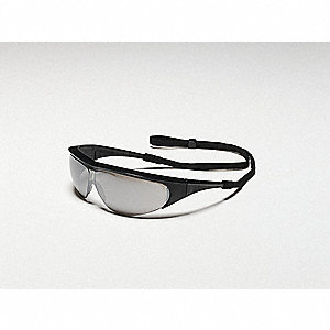 Millennia® Scratch-Resistant Safety Glasses, Silver Mirror Lens Color
