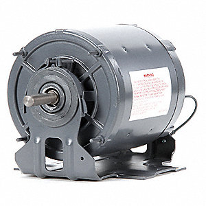1/4 HP Direct Drive Blower Motor, Split-Phase, 1725 Nameplate RPM, 115 Voltage, Frame 48Y