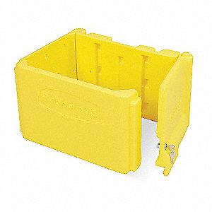 Optional Locking Cabinet,Yellow