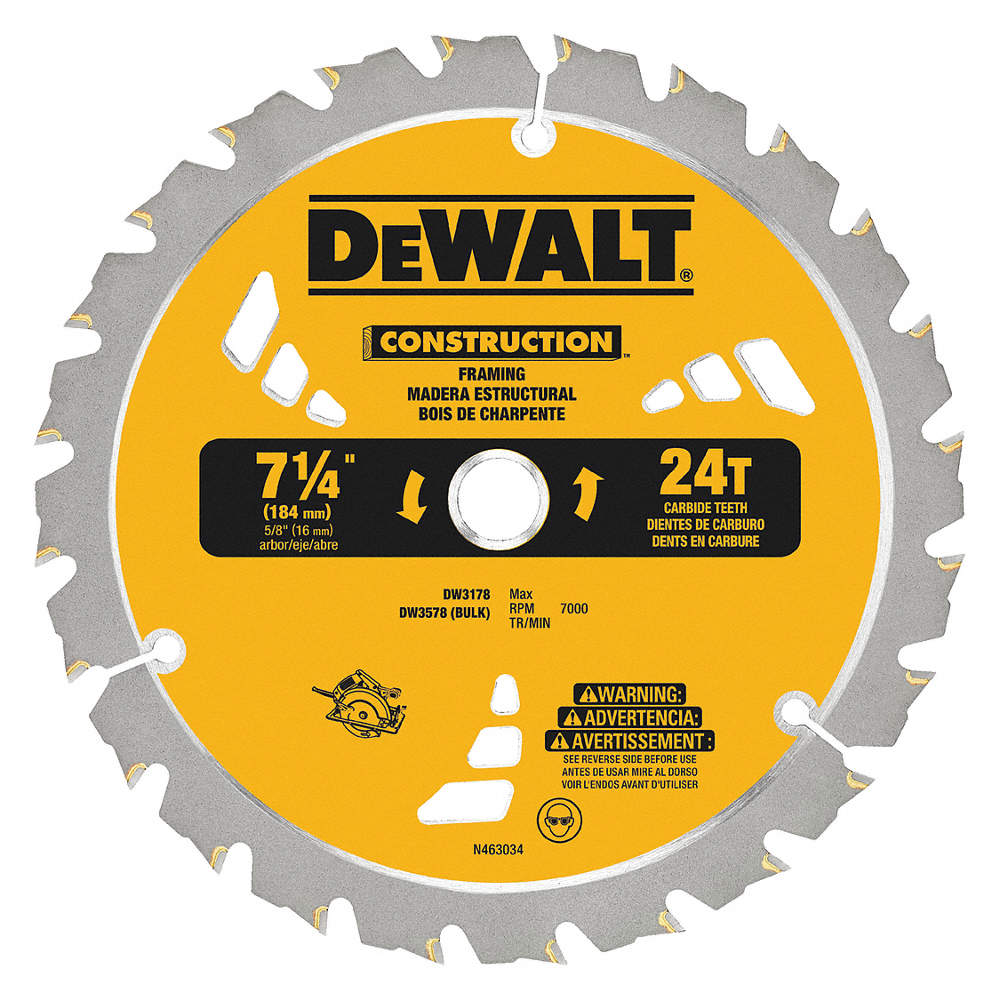 Dewalt 7 14 carbide ripping circular saw blade number of teeth zoom outreset put photo at full zoom then double click keyboard keysfo Choice Image