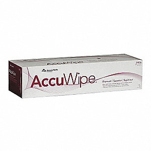 "AccuWipe® Virgin Fiber Delicate Task Wipes, 140 Ct. 16-1/2"" x 15"" Sheets, White"