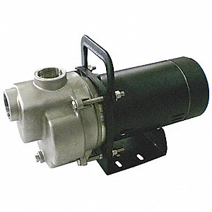 1/3-HP Self Priming Centrifugal Pump, 32 ft  Max  Head, 3/8