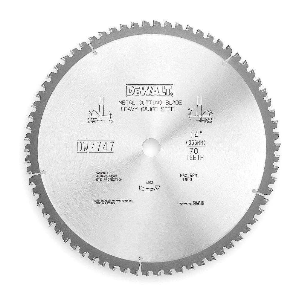 Dewalt 14 carbide metal cutting circular saw blade number of teeth zoom outreset put photo at full zoom then double click greentooth Images