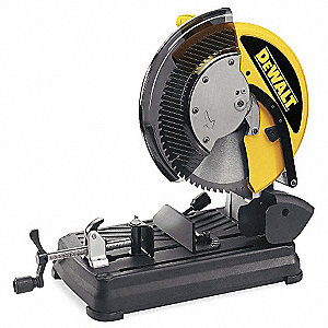 "4 HP Chop Saw, 14"" Blade Dia., 1"" Arbor Size, Voltage: 120"
