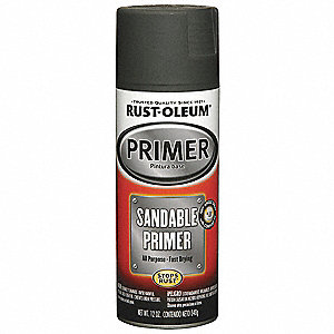 Automotive Primer,Black,12 oz.