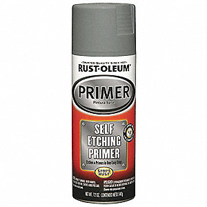 Self Etching Primer,Dark Green,12 oz.