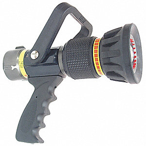Fire Hose Nozzle,1-1/2 In.,Black