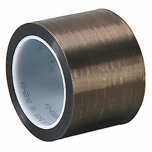 "Gray Extruded PTFE PTFE Film Tape, 3"" Width, 36 yd. Length, 3.7 mil Thickness"