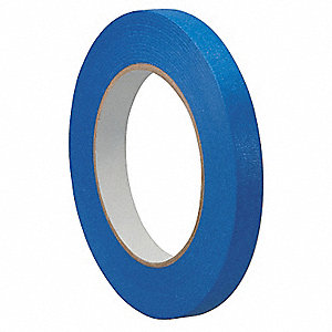 "Painters Masking Tape, 60 yd. x 1/8"", Blue, 5.50 mil"
