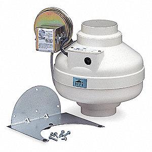 Fantech Dryer Booster Duct Fan 80 Watts 167 Cfm 0 000