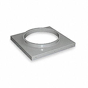 Curb Cap,6 In. H,46 In. W,46 In. D