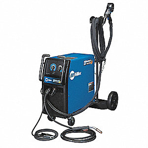 MIG Welder, Millermatic 212 w/Spool Series, Input Voltage: 208/240VAC, MIG/Flux Core