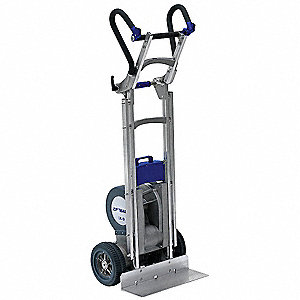 "Stair Climbing Hand Truck, Dual Handle, 725 lb., Overall Width 21"", Overall Height 63-1/2"""