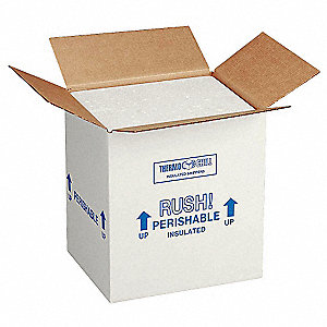 INSULATED SHIPPING KIT,16-3/8 IN. L