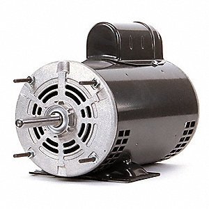 1 HP Direct Drive Blower Motor, Permanent Split Capacitor, 1140 Nameplate RPM, 115/230 Voltage