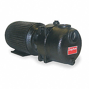 5 HP Sewage/Trash Centrifugal Pump, 3 Phase, 208-230/460 Voltage, 13.4-12.6/6.3 Amps