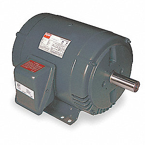 3 HP Direct Drive Blower Motor, 3-Phase, 1725 Nameplate RPM, 208-230/460 Voltage, Frame 182T