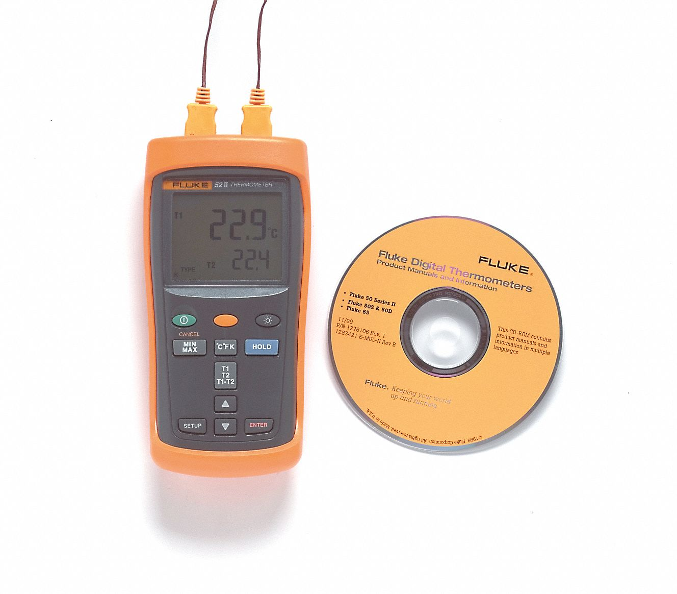Fluke Temperature And Humidity Measurement Test Instruments Grainger Industrial Supply