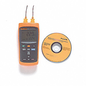 Thermocouple Thermometer,2 In,K, J, T, E