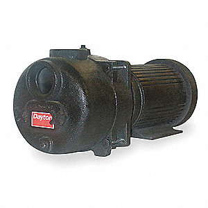7.5 HP Sewage/Trash Centrifugal Pump, 3 Phase, 208-230/460 Voltage, 18.8-17.8/8.9 Amps