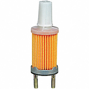 Fuel Filter,5-13/32 x 2 x 5-13/32 In