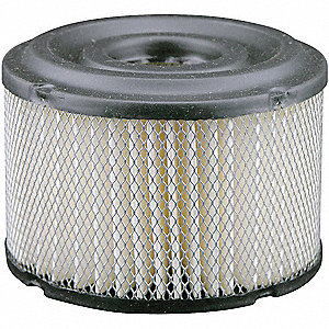 Air Filter,3-5/8 x 2-27/32 in.