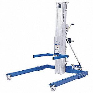 Genie Manual Lift Manual Push Equipment Lift 800 Lb Load