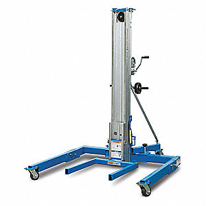 Equipment Lift,Straddle,1000 lb.