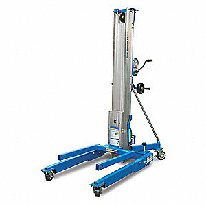 Genie Manual Lift Manual Push Equipment Lift 1000 Lb