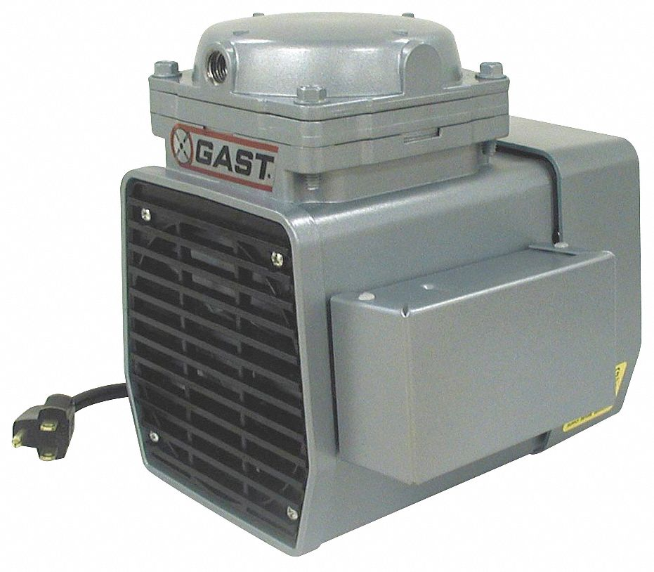 1/3 hp HP Diaphragm Compressor/Vacuum Pump