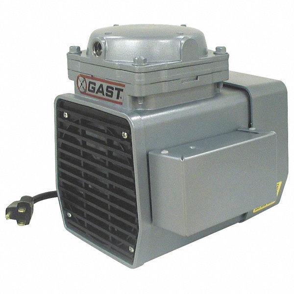 Gast 1 3 hp diaphragm compressor vacuum pump 4z024 doa for Gast air motor distributors