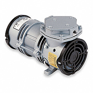 1/16 HP Diaphragm Compressor/Vacuum Pump