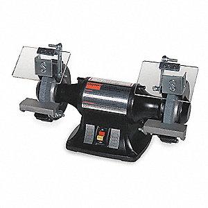 Dayton 6 Quot Bench Grinder 115 230v 1 3 Hp 3450 Max Rpm
