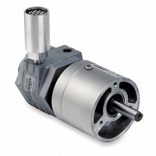 Gast face mounted air gearmotor with 1 2 shaft dia for Gast air motor distributors