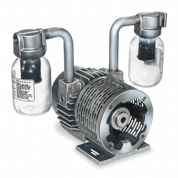 Gast 1 hp separate drive vacuum pump inlet size 3 4 npt for Gast air motor distributors