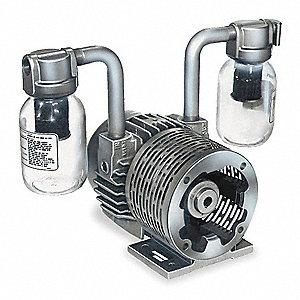Gast 1 1 2 Hp Separate Drive Vacuum Pump Inlet Size 3 4