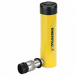 "10 tons Single Acting General Purpose Steel Hydraulic Cylinder, 6-1/8"" Stroke Length"