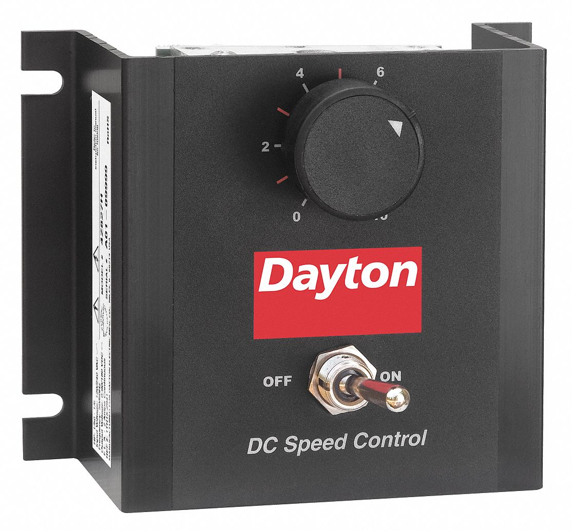 DAYTON DC Speed Control,Chassis,100/200VDC Shunt Wound Volts,0 to 90 ...