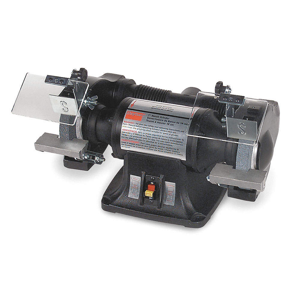 Fantastic Dayton Heavy Duty Bench Grinder 115 230V 1 2 Hp 3450 Max Gmtry Best Dining Table And Chair Ideas Images Gmtryco