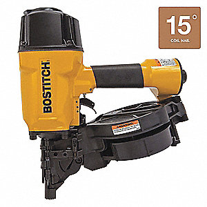 Wire Air Framing Nailer, Yellow