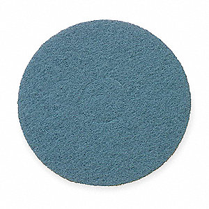 "20"" Blue Scrubbing Pad, Package Quantity 5"
