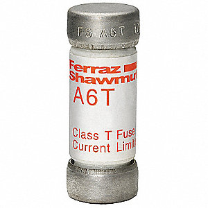 FUSE,A6T,600VAC/300VDC,10A,VERY FAS