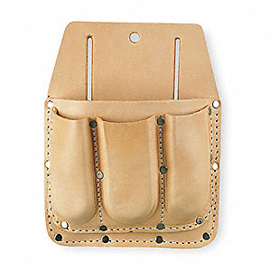 Tool Pouch, Tan Top Grain Leather