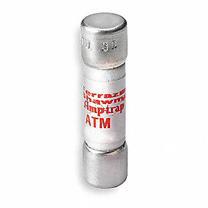 Fast Acting, Cylindrical, Fast Acting Midget Fuse, ATM Series, 600VAC/DC, Nonindicating