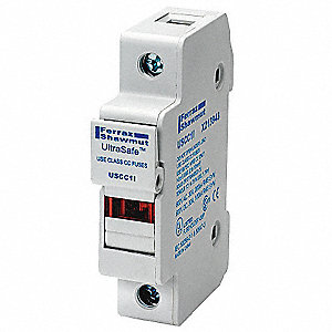 Amperage Range: 1 to 30, Number of Poles: 1, 600VDC DC Voltage Rating, 600VAC AC Voltage Rating